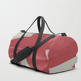 Silk Union Jack Flag Closeup Duffle Bag