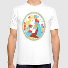 Venice for Lovers SMALL White Mens Fitted Tee