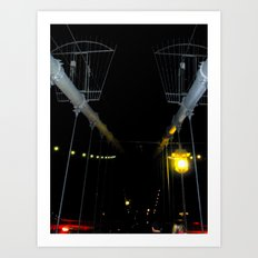 Yellow Light Art Print