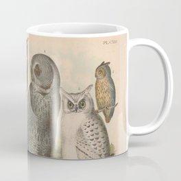 Naturalist Owls Coffee Mug