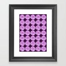 Tri Dots 3 Framed Art Print