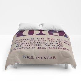 Yoga Teaches Us Comforters