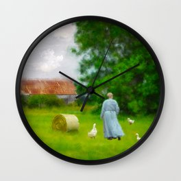 God's Little Acre Wall Clock