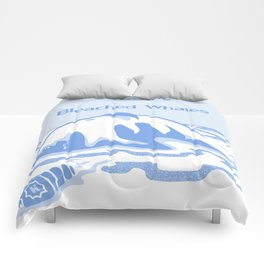Save the Bleached Whales Comforters