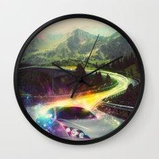 Superhighway Wall Clock