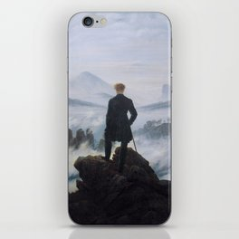 Wanderer Above the Sea of Fog iPhone Skin