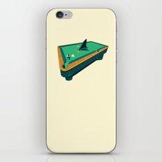 Pool shark iPhone & iPod Skin
