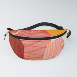Abstraction_Cactus_&_Sun Fanny Pack