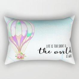 Life is too short Rectangular Pillow