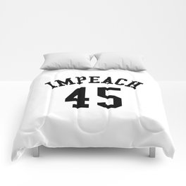 IMPEACH 45 Comforters