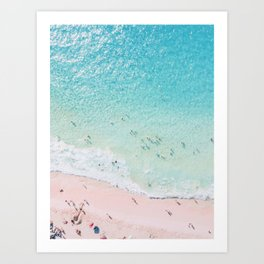 Beach Sunday Art Print