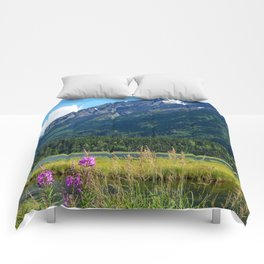 July at Tern Lake - II Comforters