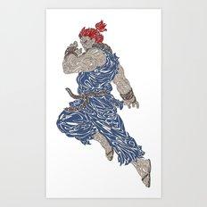 Akuma Art Print
