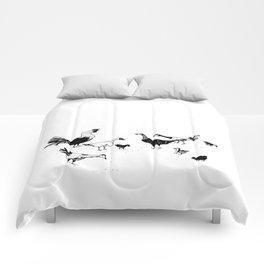 Island Life Series: Alarm Clock Comforters