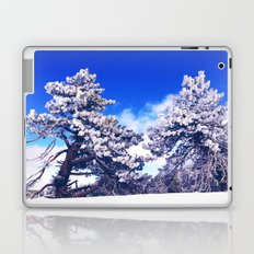 Snow covered trees Laptop & iPad Skin