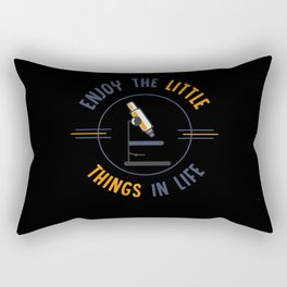 Biology, Biology Biologist, Chemistry Rectangular Pillow