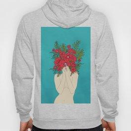 Blooming Red Hoody