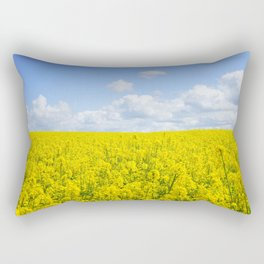 Meadow of Yellow Rectangular Pillow