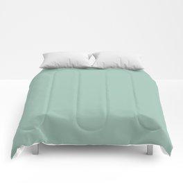 Aqua Silt Green Blue | Solid Colour Comforters