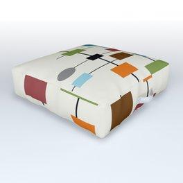 Mid-Century Modern Art 1.3 Outdoor Floor Cushion