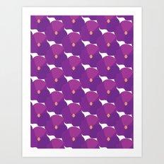 You're turning Violet, Violet Art Print