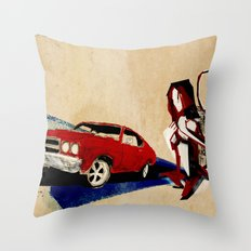If I Had A Tail Throw Pillow