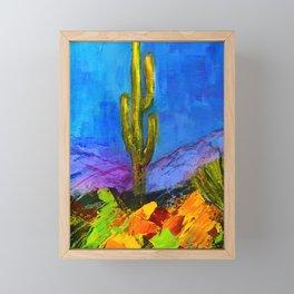 Desert Giant Framed Mini Art Print