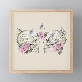 Skulls Framed Mini Art Print
