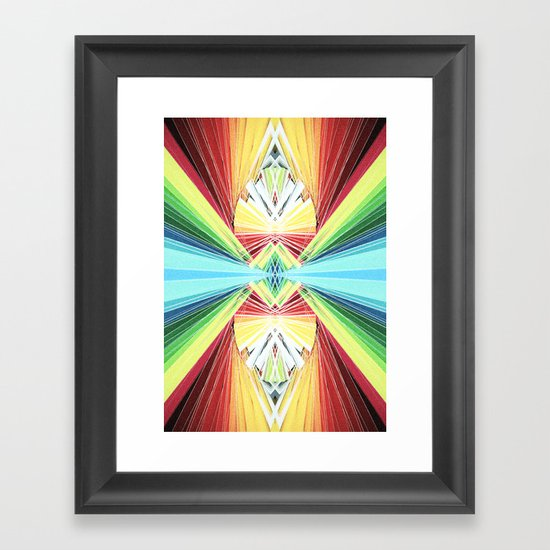 Infinito Framed Art Print