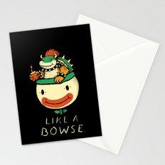 like a bowse Stationery Cards