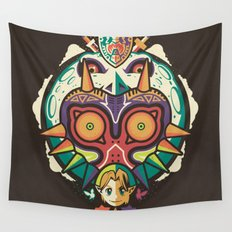 A Terrible Fate Wall Tapestry
