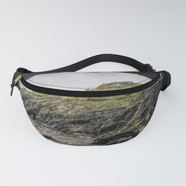 Merlins cove tintagel Fanny Pack