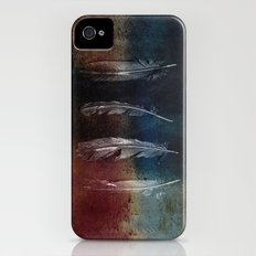 Rusty Feathers Slim Case iPhone (4, 4s)
