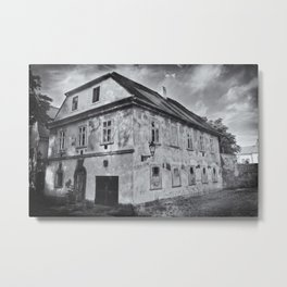 Somwhere in the city Metal Print