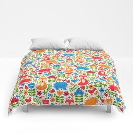 Fox Forest Comforters