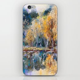 The Pond's Reflections iPhone Skin