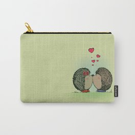 Hedgehogs in love Carry-All Pouch