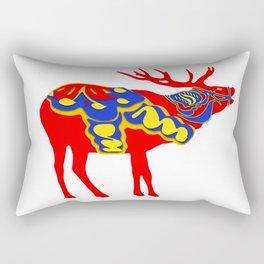 Graphic Dala Elk Rectangular Pillow