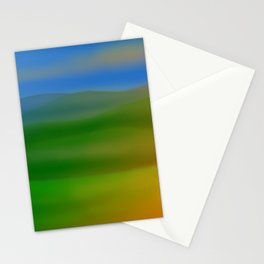 Hillscape Sunset Stationery Cards