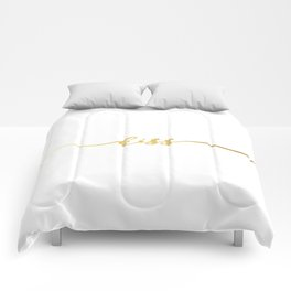 golden kiss Comforters
