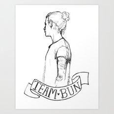 Team Bun Art Print