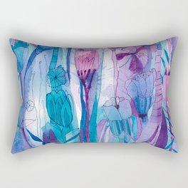 Our Love is A Garden Rectangular Pillow