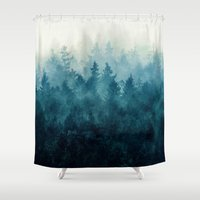 country Shower Curtains featuring The Heart Of My Heart // So Far From Home Edit by Tordis Kayma