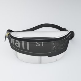 Wall St. Minimal - NYC Fanny Pack