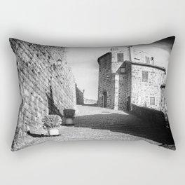 Passage to the castle Rectangular Pillow