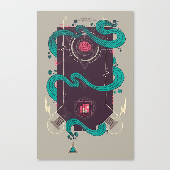 The Monster Canvas Print