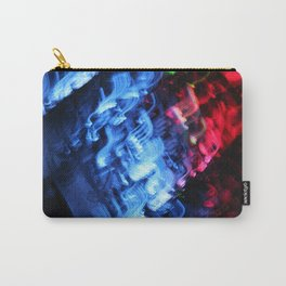 Blue & Red Abstract Carry-All Pouch