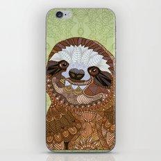 Smiling Sloth iPhone & iPod Skin
