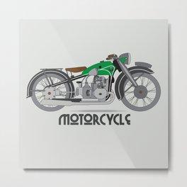 motorcycle club motorcycle gang motorcycle gangs motorcycle fenders motorcycle patch motorcycles Metal Print