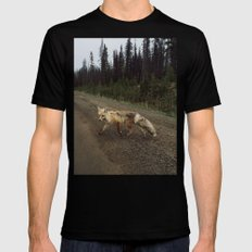 Fox Trot Mens Fitted Tee LARGE Black